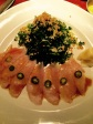 Yellowtail sashimi salad, Hillstone Park Avenue, NYC